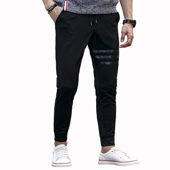 2016 Yeni Moda Erkek Jogging Yapan Pantolon Outdoors Joggers Erkekler Katı Casual Kalem Pantolon Harem Pantolon Sweatpants Slim Erkek Pantolon M-3XL