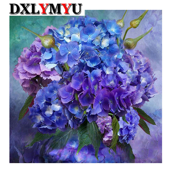 DIY 5D Floral Diamond Embroidery Painting for Home Decor Holidays Gifts Full Square Rhinestone Diamond Mosaic