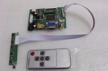 HDMI + 2 av + VGA LCD driver board + 6.5 LCD panel AT065TN14 800_480 + OSD keyboard. On board DYI kits to buy