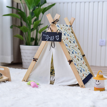 Köpek Teepee House Bed